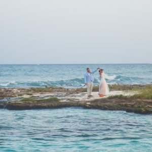 Bridegroom picture in sand