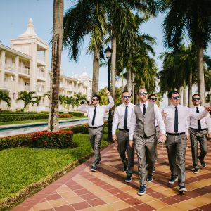 Men Walk in paradise