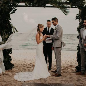 Destination wedding blue venado