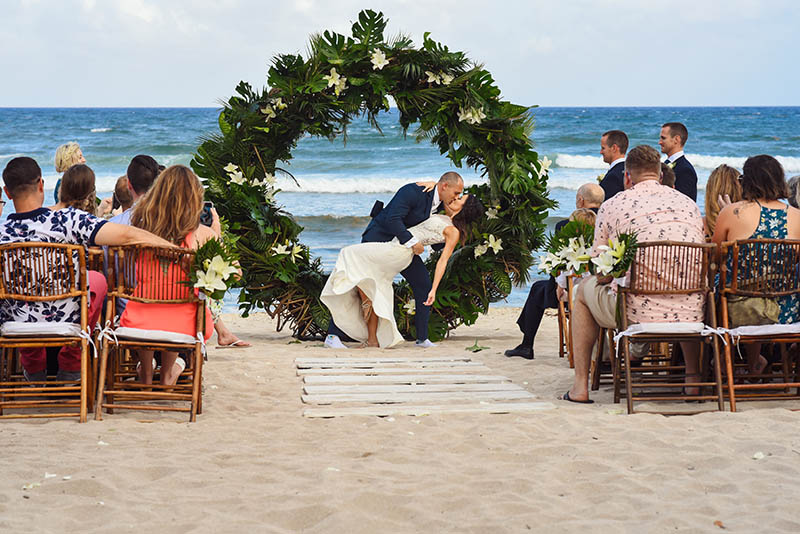 Boho Wedding on the beach in Mexico